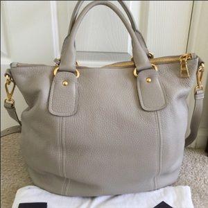 Prada Bags - NWOT PRADA leather shoulder bag sacca manici fc82ab37c91